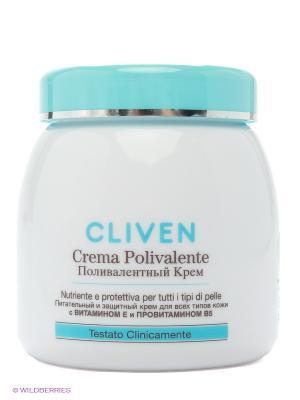 Крем Поливалентный для всех типов кожи CLIVEN. Цвет: белый