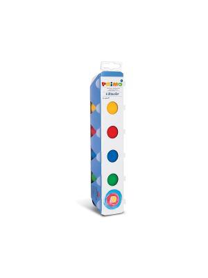 Пальчиковые краски 6х25 мл Primo. Цвет: синий, зеленый, красный, желтый
