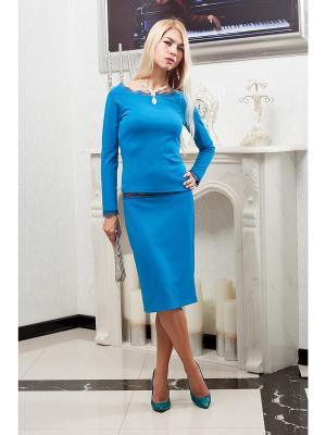 Комплект Lussotico. Цвет: голубой