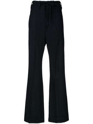 Расклешенные брюки Ann Demeulemeester. Цвет: чёрный