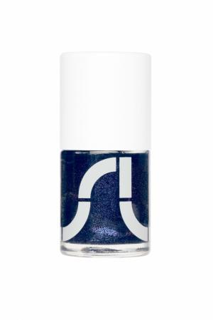 Лак для ногтей BIV Uslu Airlines. Цвет: вечернее звездное небо с шиммером