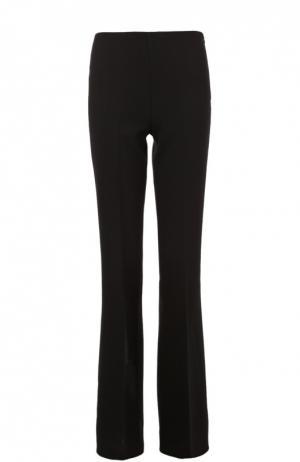 Шерстяные расклешенные брюки Theory. Цвет: черный