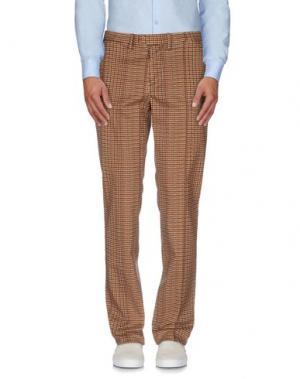 Повседневные брюки HAIKURE. Цвет: коричневый