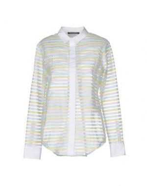Pубашка LA CAMICIA BIANCA. Цвет: кислотно-зеленый