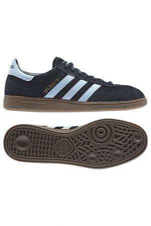Кроссовки adidas. Цвет: коричневый, темно- синий, голу