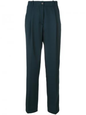 Строгие брюки Zaffiro Forte. Цвет: синий