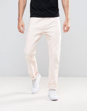 Weekday Свободные розовые джинсы Vacant. Цвет: розовый