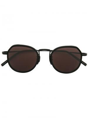 Солнцезащитные очки Bartley Maska. Цвет: чёрный