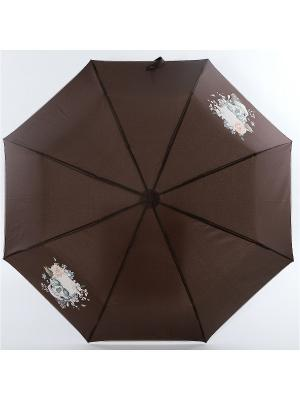 Зонт ArtRain. Цвет: темно-коричневый