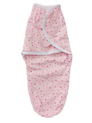Пеленка на липучках Дашенька. Цвет: розовый