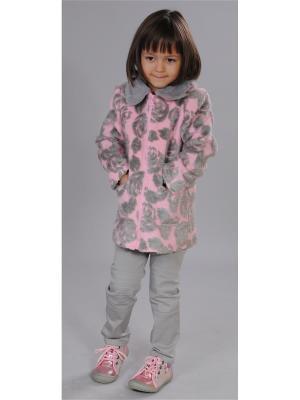 Пальто Fleur de Vie. Цвет: розовый