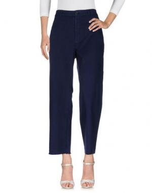Джинсовые брюки LEON & HARPER. Цвет: темно-синий