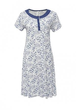 Сорочка ночная Relax Mode. Цвет: белый