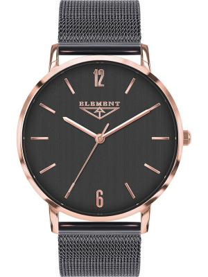 Часы 33 ELEMENT. Цвет: серый, золотистый, красный