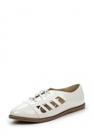 Ботинки Anesia. Цвет: белый