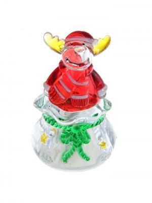Игрушка световая Подарок от лося Luazon А М Дизайн. Цвет: светло-оранжевый, прозрачный, красный, желтый