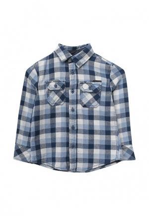 Рубашка Blukids. Цвет: голубой