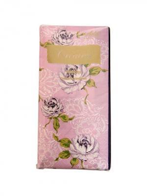 Салфетки Creative Snacks 33х33 см, Облако Роз, 3-слойные, 16 шт./уп Aster. Цвет: розовый