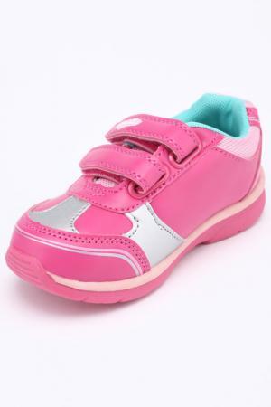 Полуботинки Hello Kitty. Цвет: фуксия, розовый