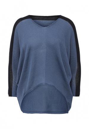 Пуловер Firkant. Цвет: голубой