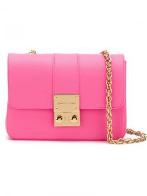 Сумка через плечо Amalfi Designinverso. Цвет: розовый и фиолетовый