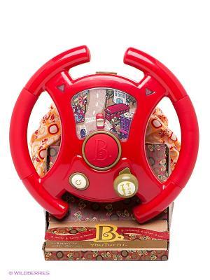 Руль Тебе водить Battat. Цвет: красный, оранжевый