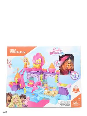 Barbie: лагуна русалок MEGA BLOKS. Цвет: синий