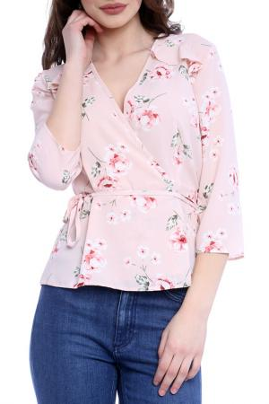BLOUSE Emma Monti. Цвет: pink and floral print