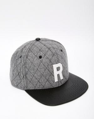 Reason Бейсболка Riverside. Цвет: серый