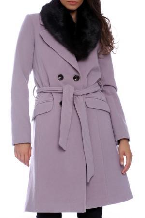Пальто Emma Monti. Цвет: розовый