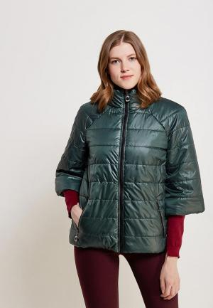 Куртка утепленная SK House. Цвет: зеленый