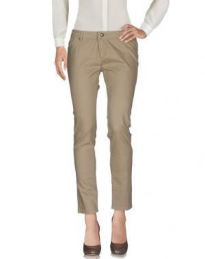 Повседневные брюки ARTIGLI. Цвет: песочный