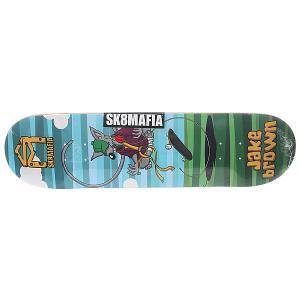 Дека для скейтборда  Sk8rats Brown 32.12 x 8.25 (21 см) Sk8mafia. Цвет: мультиколор