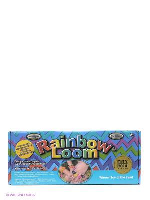 Набор для плетения браслетов Rainbow Loom Kit RAINBOWLOOM. Цвет: синий