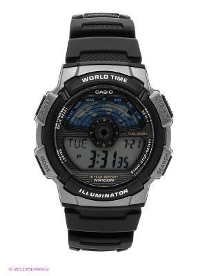 Часы Casio AE-1100W-1A. Цвет: черный