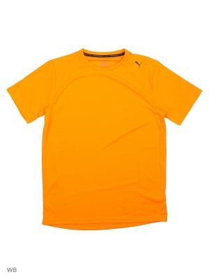 Футболка ACTIVE ESS Tee PUMA. Цвет: оранжевый