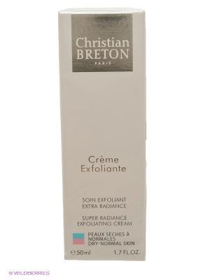Крем-эксфолиант Идеальная кожа 50 мл, Christian Breton Paris. Цвет: белый