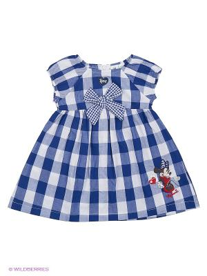 Платье Sun City. Цвет: синий, белый