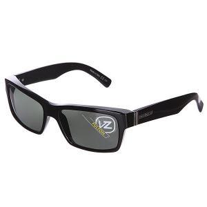 Очки  Fulton Black Gloss/Grey Von Zipper. Цвет: черный