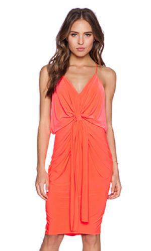 Платье T-Bags LosAngeles. Цвет: оранжевый