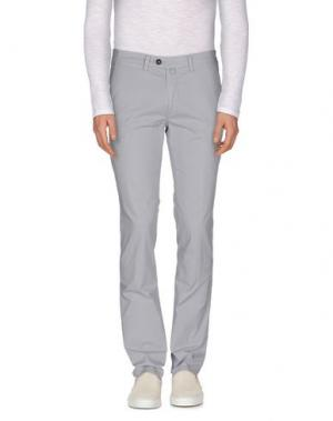 Повседневные брюки NEW ENGLAND. Цвет: серый