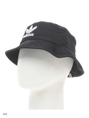Панама BUCKET HAT AC  BLACK Adidas. Цвет: черный, белый