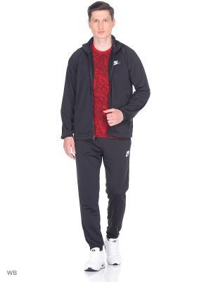 Спортивный костюм M NSW TRK SUIT PK BASIC Nike. Цвет: черный, белый