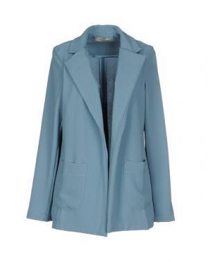 Пиджак LOU LONDON. Цвет: пастельно-синий