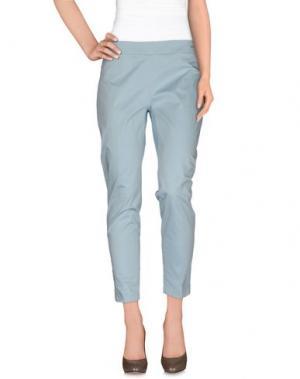 Повседневные брюки SEVENTY SERGIO TEGON. Цвет: небесно-голубой
