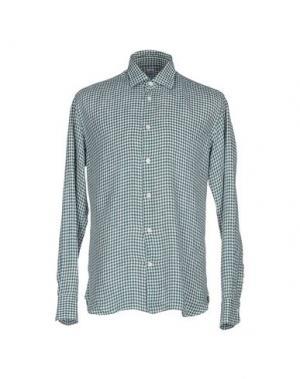 Pубашка DANOLIS. Цвет: зеленый
