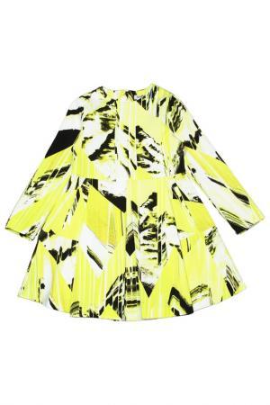 Платье Kenzo. Цвет: лимонный, 73