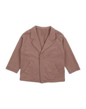 Пиджак DOUUOD. Цвет: светло-коричневый