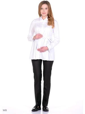 Блузка 40 недель. Цвет: белый