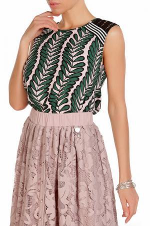 Блуза Beatrice. B. Цвет: светло-розовый, зелёный